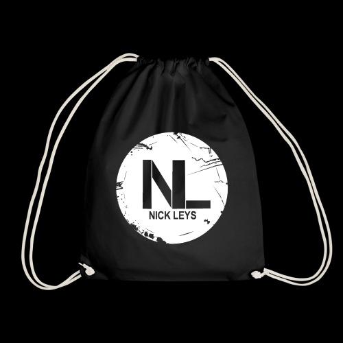 White Nick Leys Logo Rund - Turnbeutel
