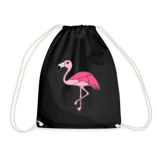Flamingo - pink - Turnbeutel