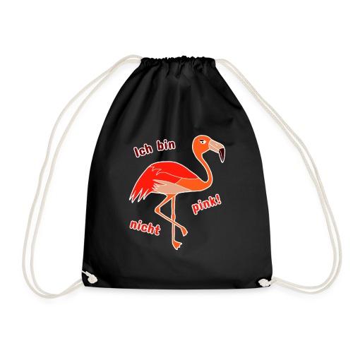 Flamingo - Ich bin nicht pink - Turnbeutel