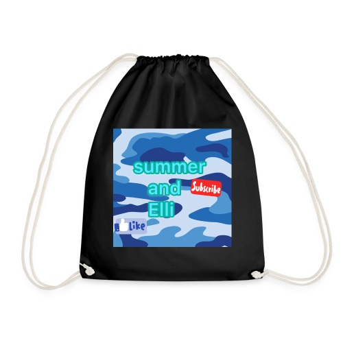 summer and elli official logo merch - Drawstring Bag