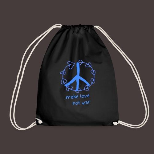 Peace,Frieden,Weltfrieden - Turnbeutel
