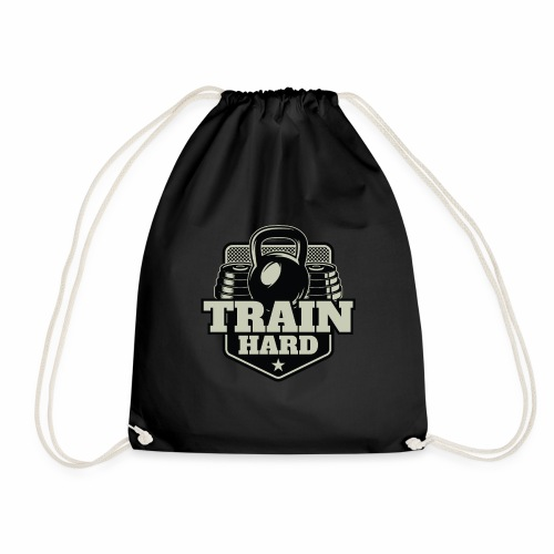 Train Hard - Turnbeutel