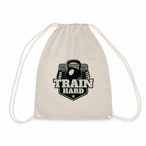Train Hard - Turnbeutel