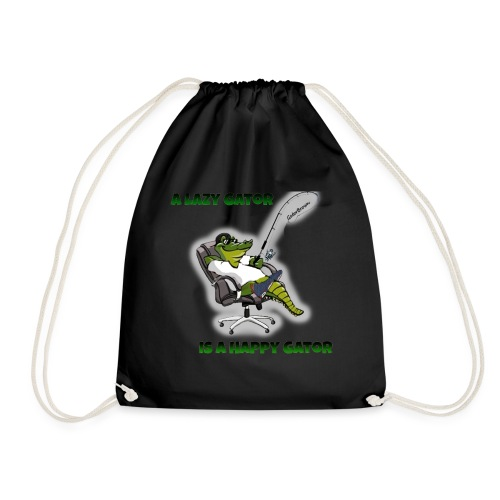 Gator Fishing - Drawstring Bag