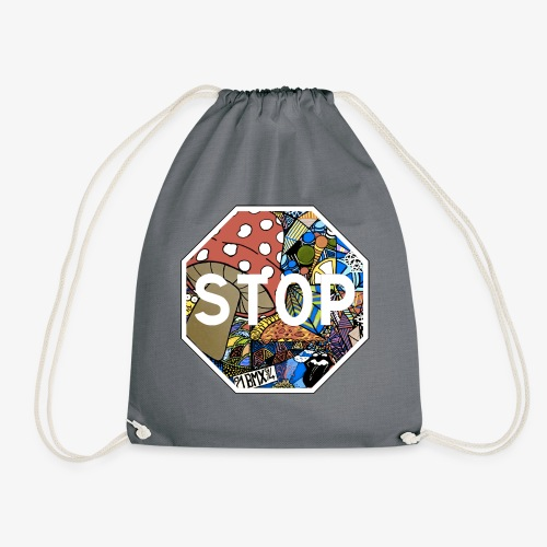 panneau stop pidraw - Sac de sport léger