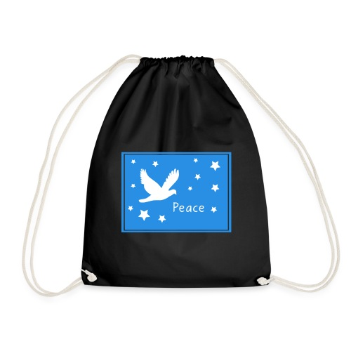 Peace for All - Drawstring Bag