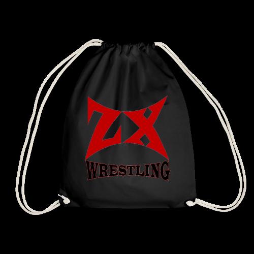 ZX WRESTLING LOGO V3 (FORBIDDEN TO REJECT) - Drawstring Bag