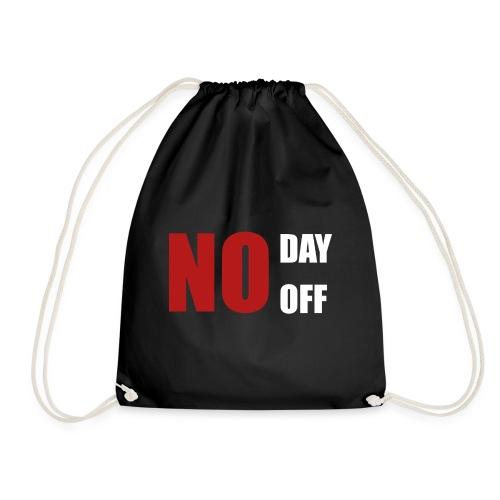 No day off - Turnbeutel