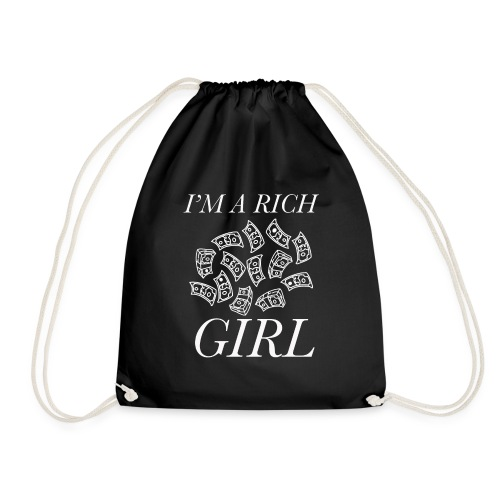 powerful I'm a rich girl T-shirt - Sacca sportiva