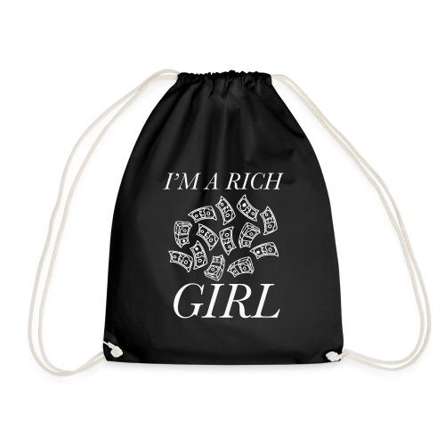 powerful I'm a rich girl T-shirt - Sacca sportiva