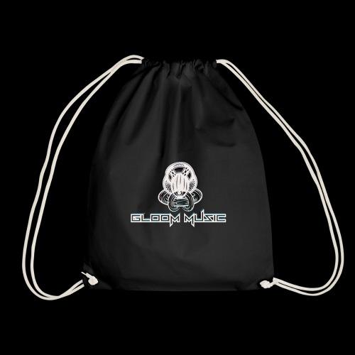 GLOOM MUSIC LOGO 3D - Drawstring Bag