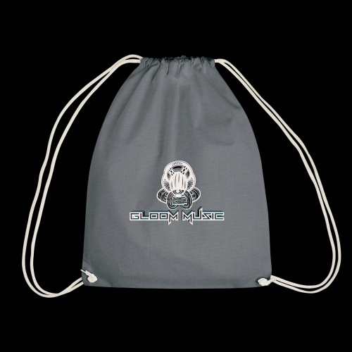 GLOOM MUSIC LOGO 3D - Drawstring Bag