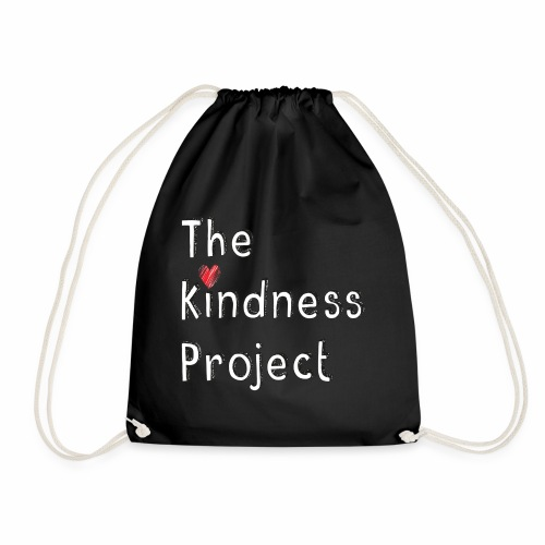 The kindness project - Drawstring Bag