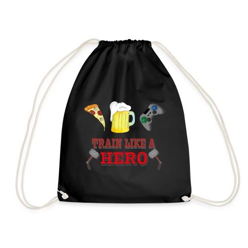 Train like a Hero - Turnbeutel