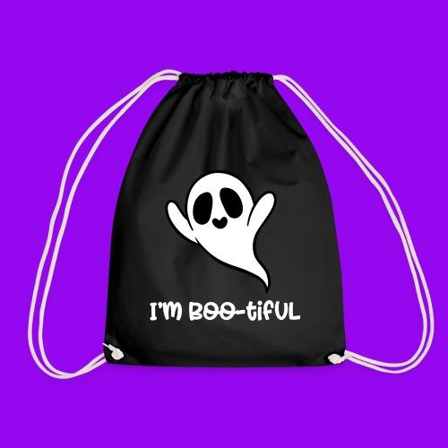 I'm boo-tiful (gefüllte Buchstaben) - Turnbeutel