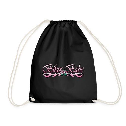 Biker Babe - Drawstring Bag