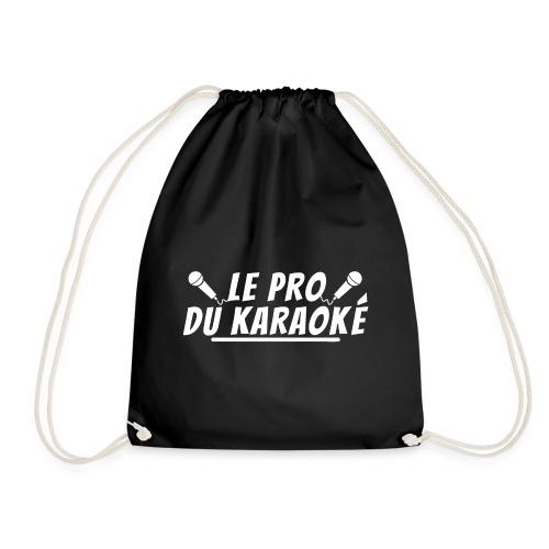 le pro du karaoke. cadeau karaoké - Sac de sport léger