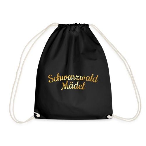 Schwarzwald Mädel (Goldgelb) - Turnbeutel
