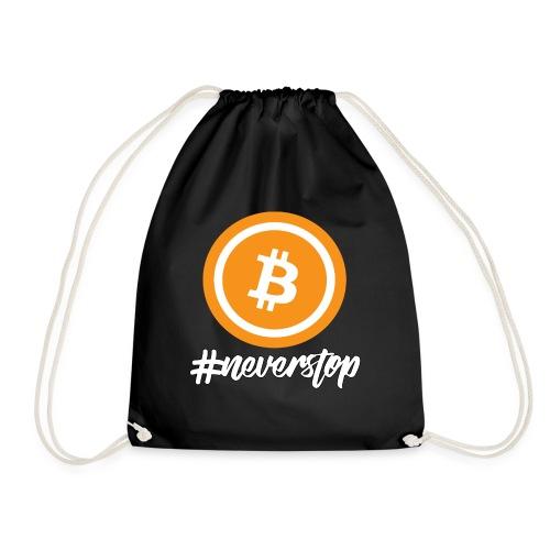 Bitcoin #neverstop - Turnbeutel