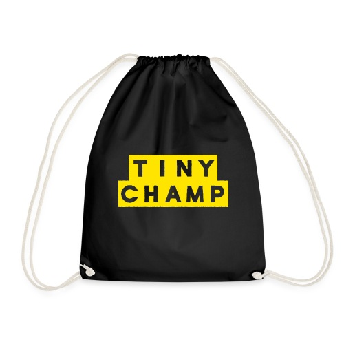 tiny champ blocks design - Drawstring Bag