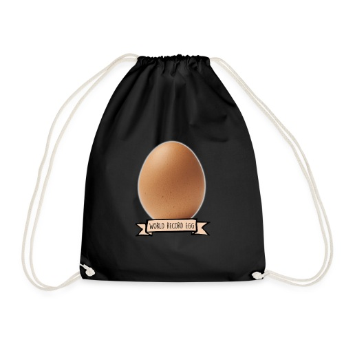 World Record Egg - Drawstring Bag