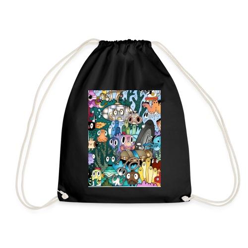 Doodle - Drawstring Bag