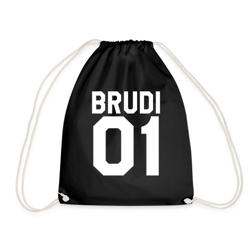 Brudi 01 Geschwister Beste Freunde Partnerlook - Turnbeutel