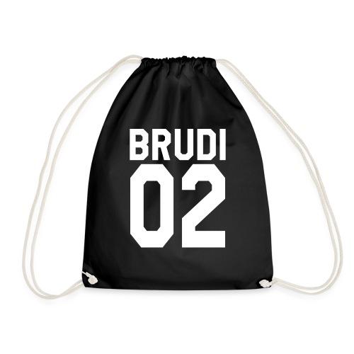 Brudi 02 Geschwister Beste Freunde Partnerlook - Turnbeutel