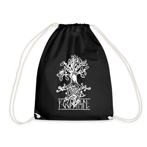 yggdrasil -the norse tree of life - Drawstring Bag
