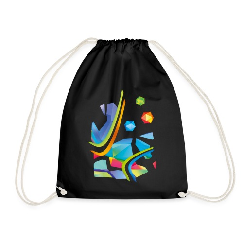 Fresh Works 3D Graffiti - Drawstring Bag