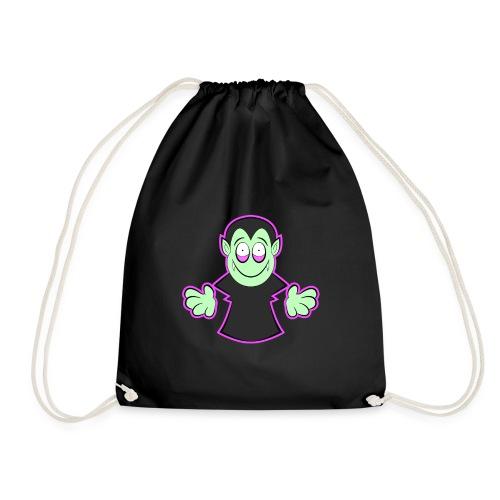 Süßes Vampir Halloween Design - Turnbeutel