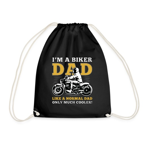 I'm a Biker Dad , like a Normal Dad, only much coo - Turnbeutel