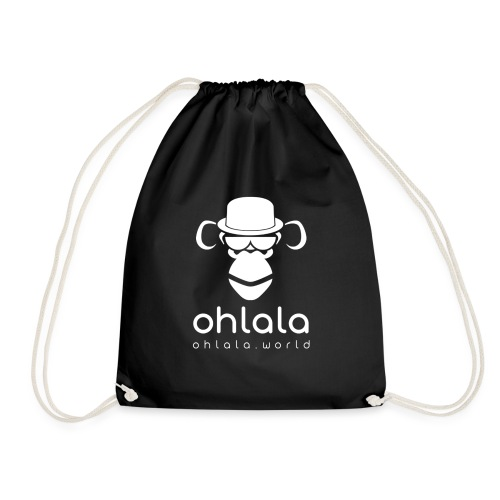 Ohlala Boss WHITE - Sac de sport léger