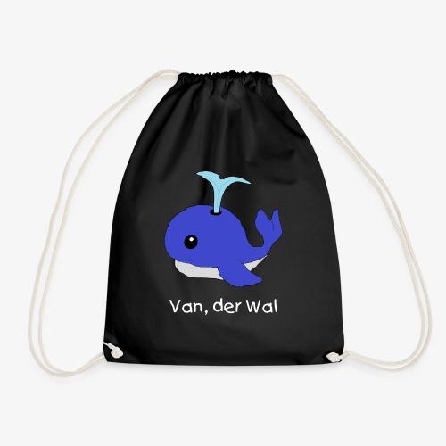 Van der Wal mit Beschriftung - Turnbeutel