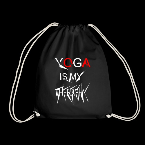 Yoga is my theraphy 2 - Turnbeutel