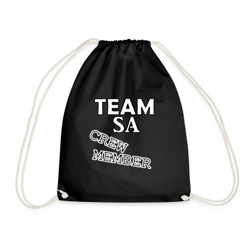 Team SA Crew Member Vit - Gymnastikpåse