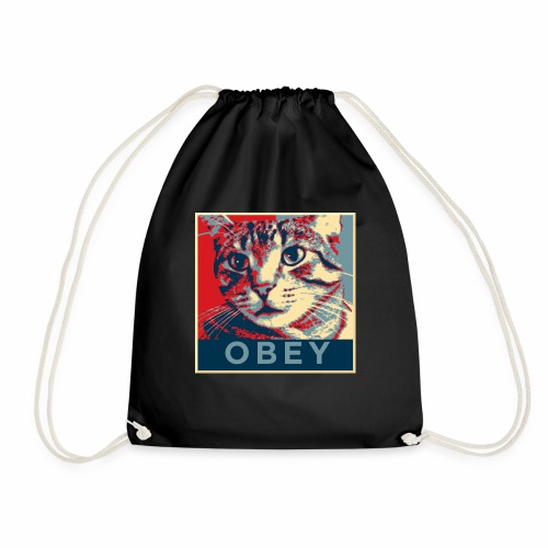 Obey the Cat! - Turnbeutel
