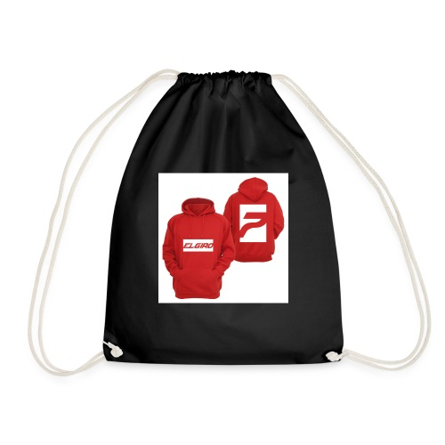 red elgiro hoodie - Drawstring Bag