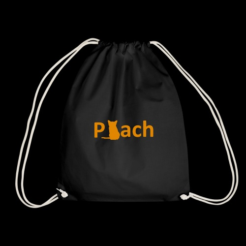 Peachcat - Drawstring Bag