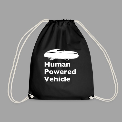 Quest Human Powered Vehicle 2 white - Drawstring Bag