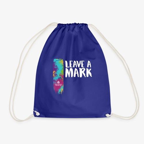 Leave a mark - Drawstring Bag