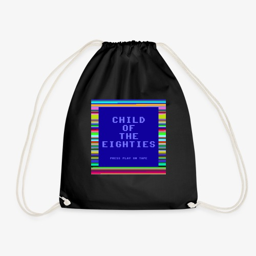 Child of the 80's - Eighties Computer Style - Drawstring Bag