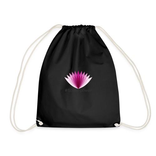 #flowerpower - Drawstring Bag