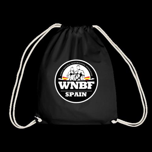 LOGO WNBF SPAIN - NEGRO - Mochila saco
