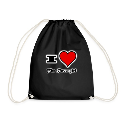 'I Love The Ravengirl' - Drawstring Bag