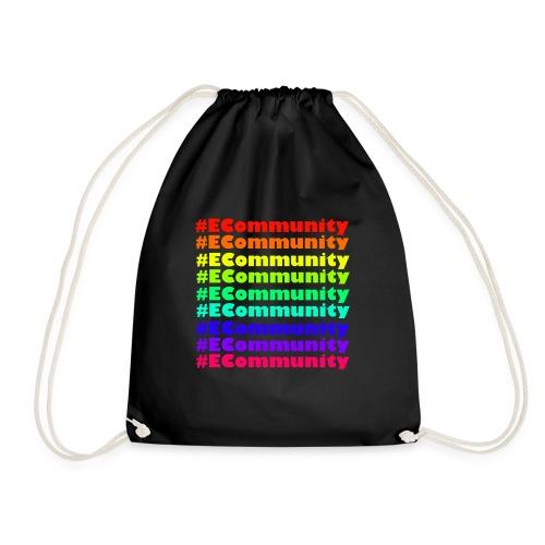 Ecommunity Rainbow - Turnbeutel