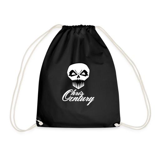 logo Chris Century blanc - Sac de sport léger