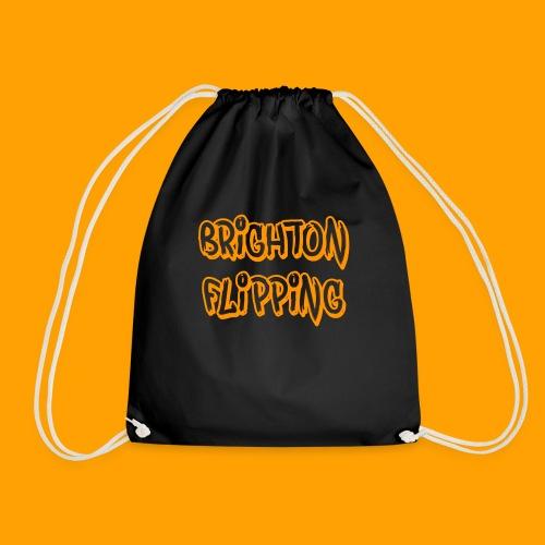 Classic Brighton Flipping - Drawstring Bag