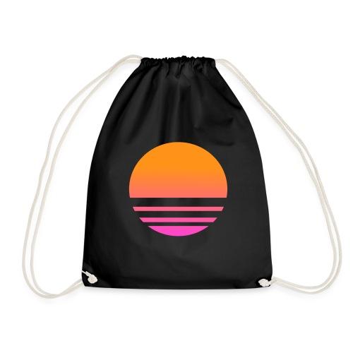Vaporwave - Drawstring Bag