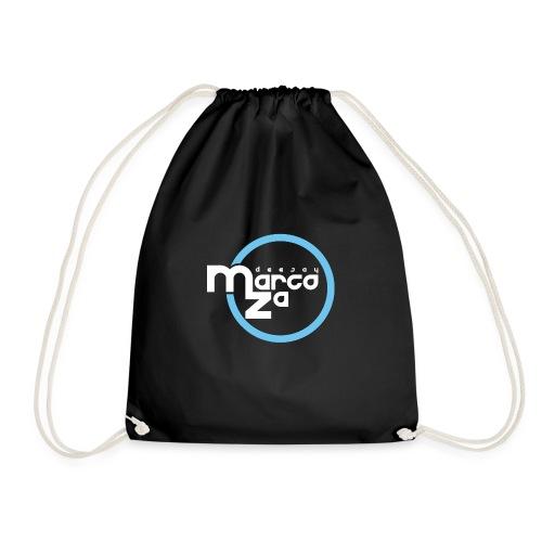 Logo White - DJ MARCOZA - Turnbeutel